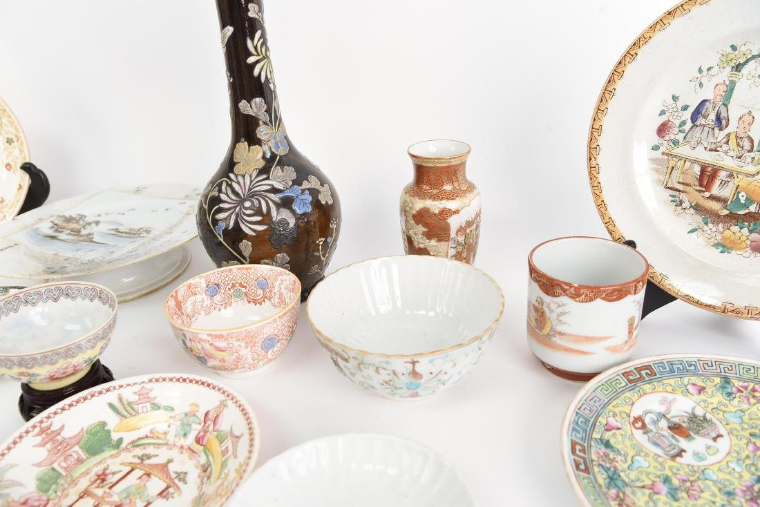 LARGE ASIAN PORCELAIN GROUPING - 6