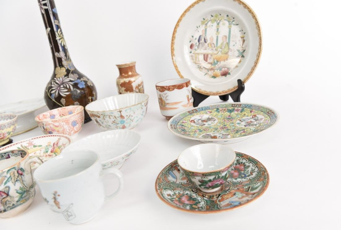 LARGE ASIAN PORCELAIN GROUPING - 8