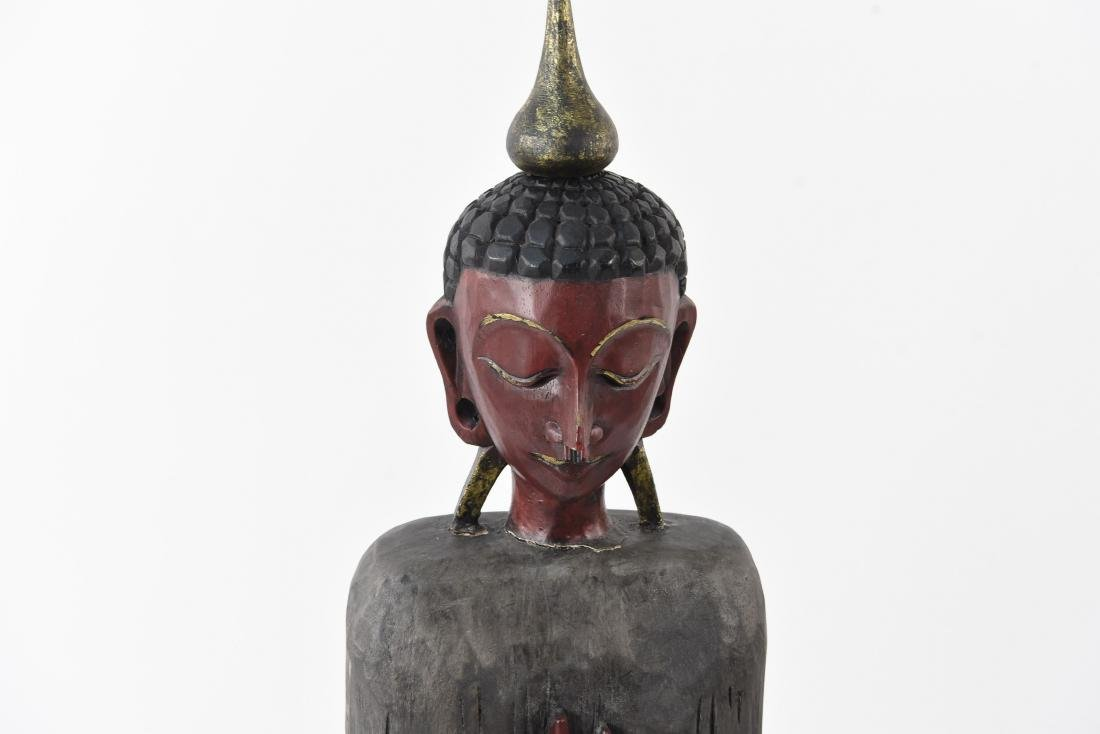ASIAN CARVED FIGURE - 3