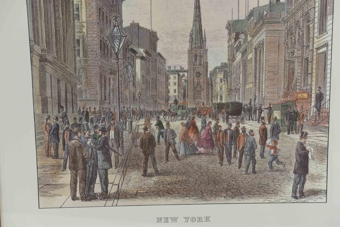 (2) NEW YORK PRINTS - 10