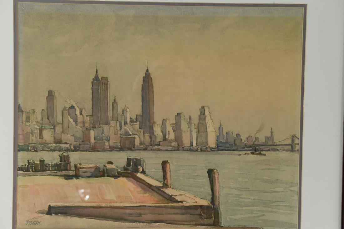 (2) NEW YORK PRINTS - 2
