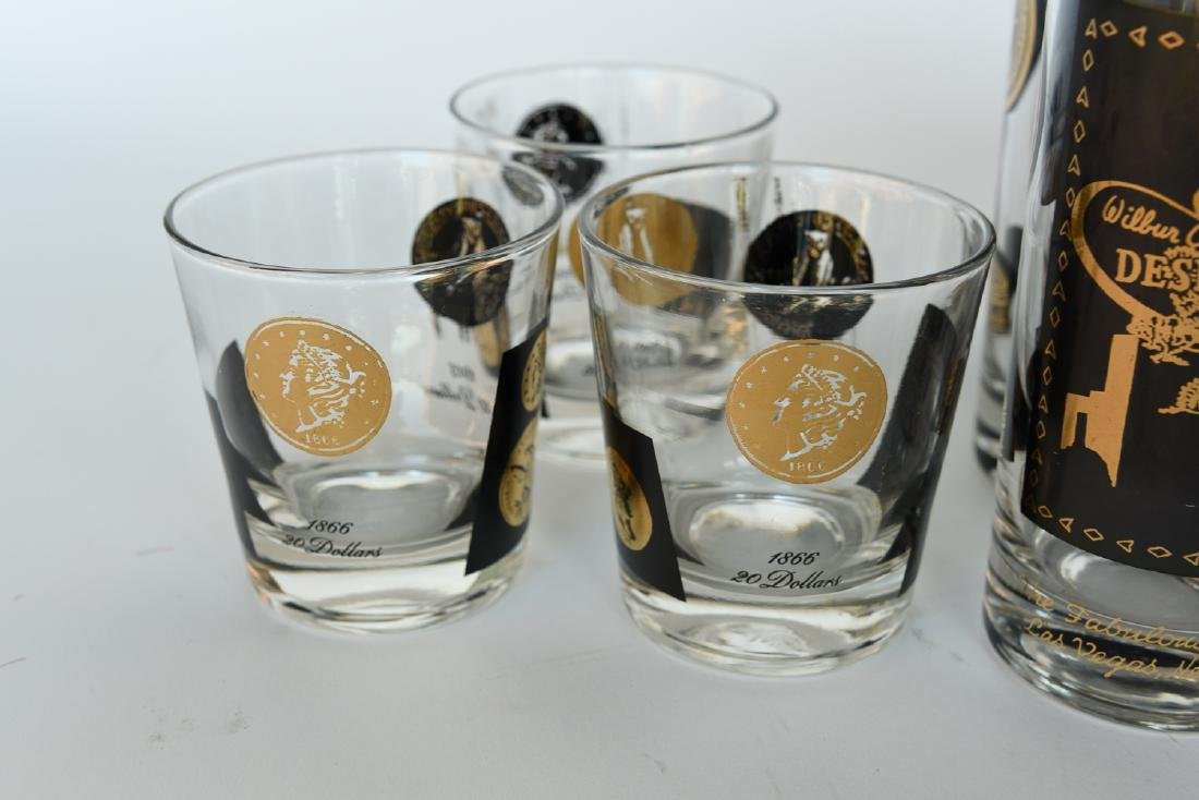 MID-CENTURY DRINKING GLASS GROUPING - 2