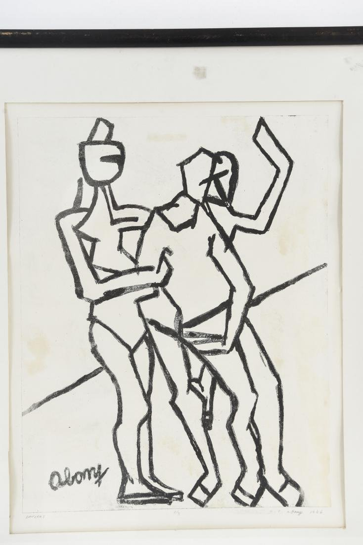 A.C. ABONY DANCERS PRINT, 1966 - 2