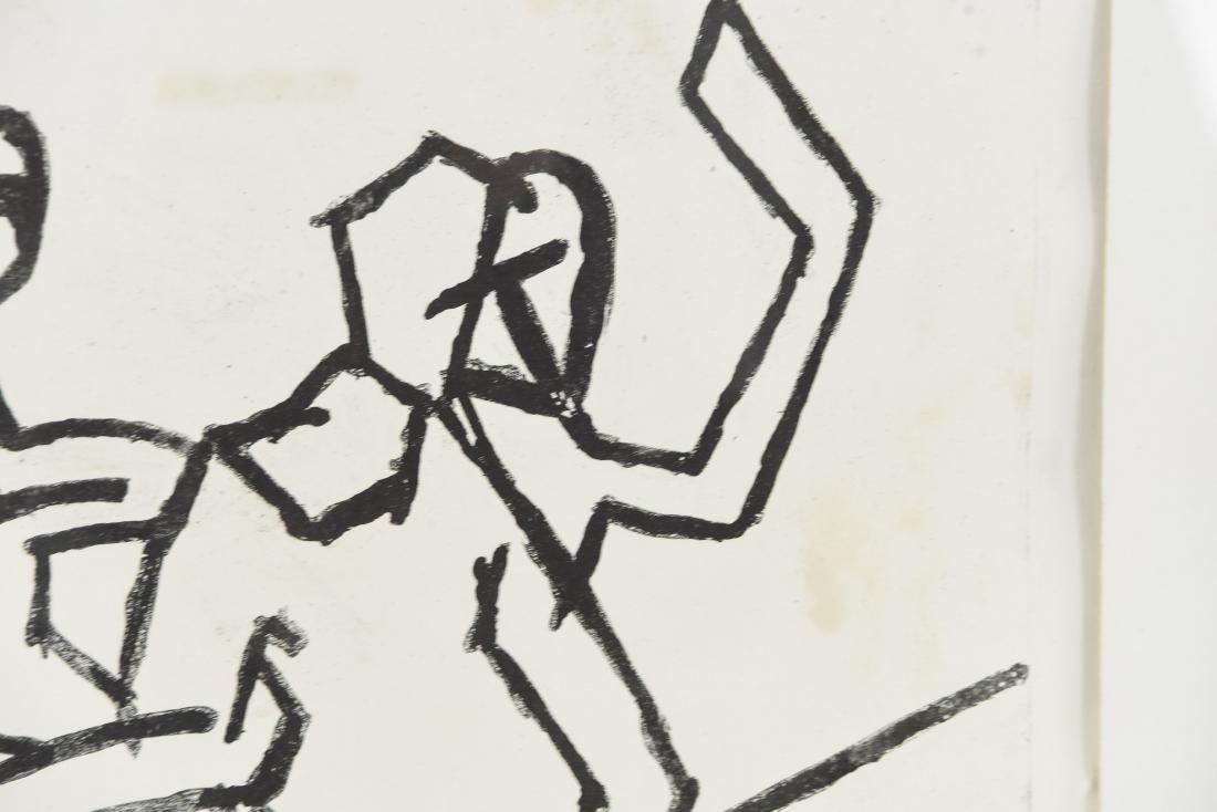 A.C. ABONY DANCERS PRINT, 1966 - 4