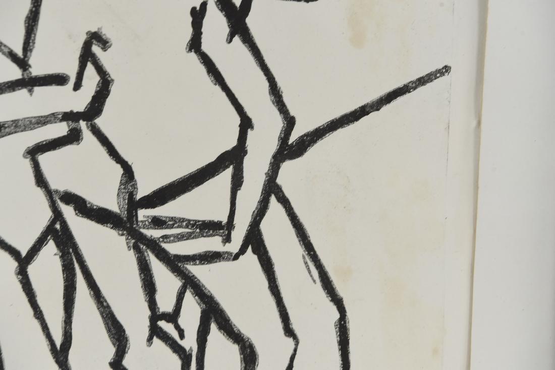A.C. ABONY DANCERS PRINT, 1966 - 5
