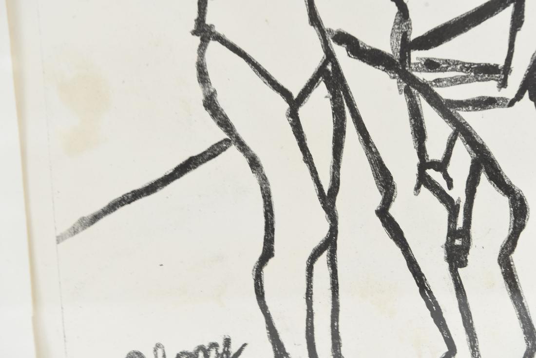 A.C. ABONY DANCERS PRINT, 1966 - 6