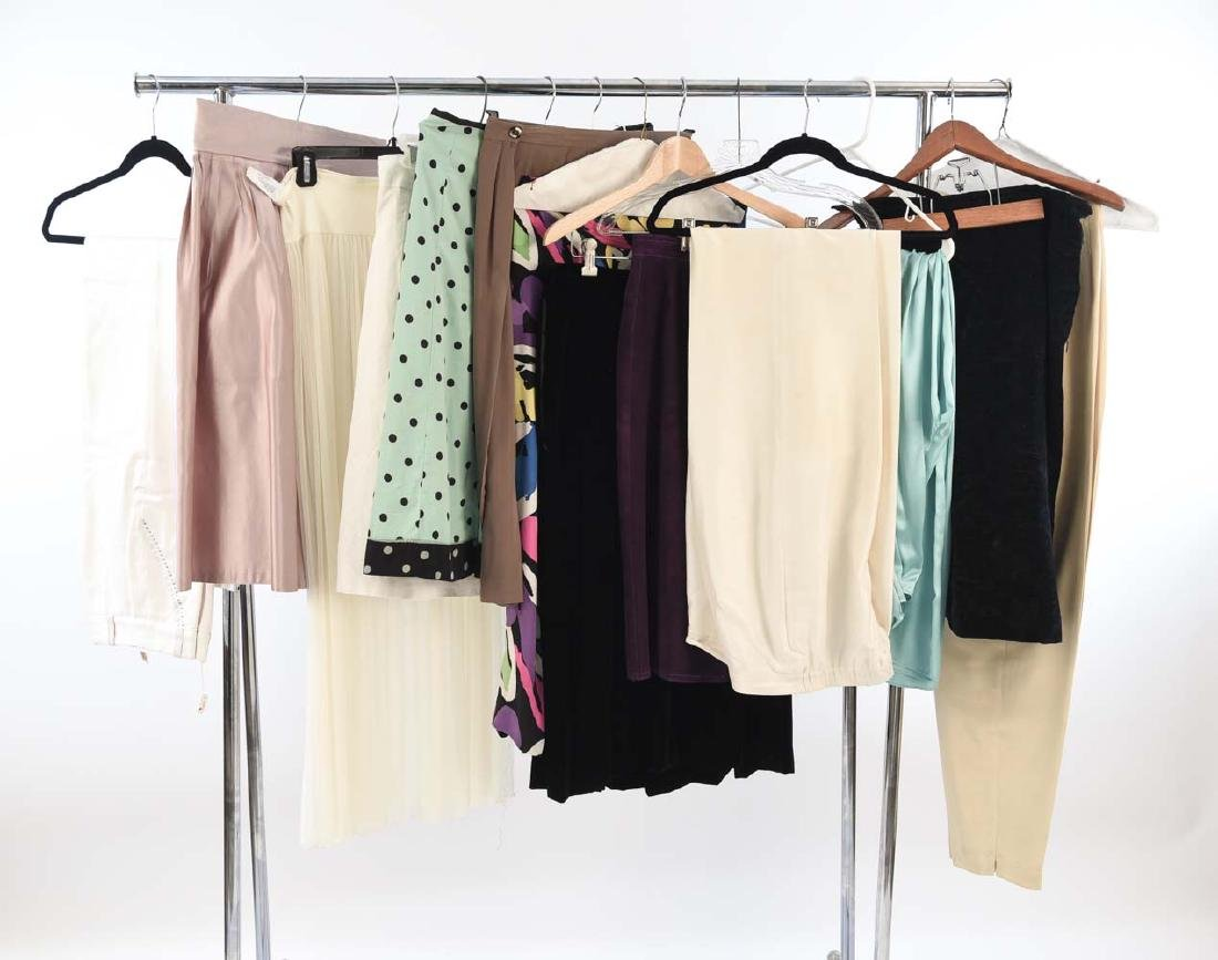 GROUPING OF VINTAGE DRESSES AND SKIRTS
