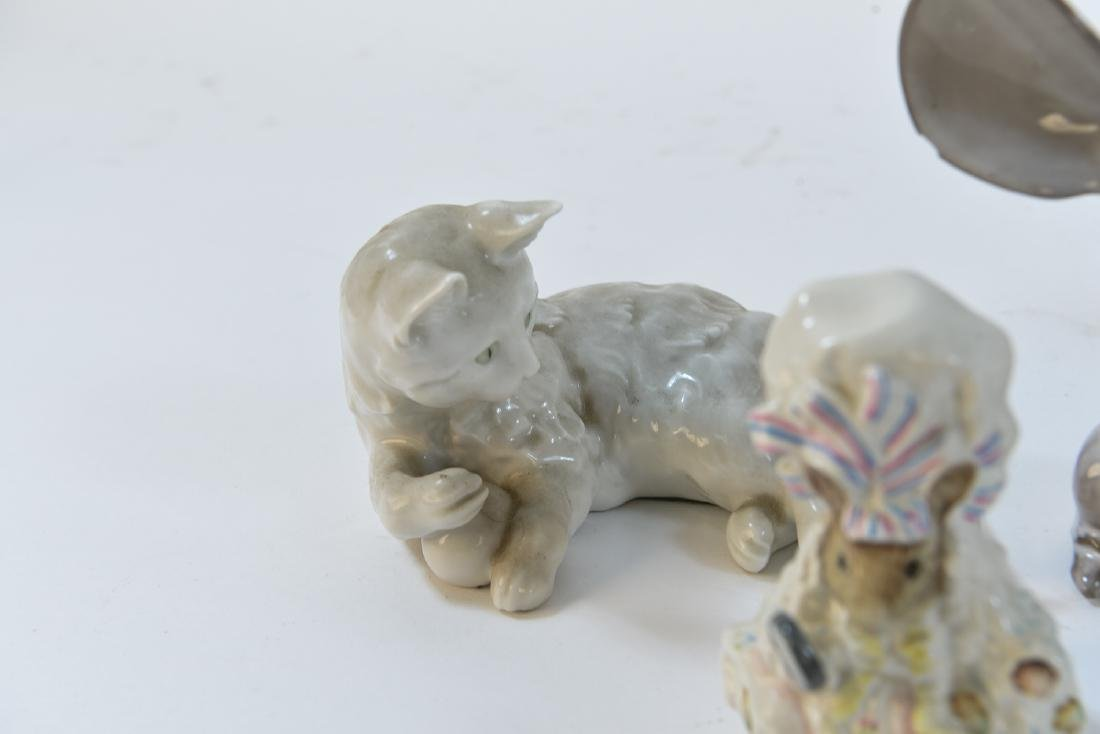 PORCELAIN MOUSE GROUPING ETC - 7