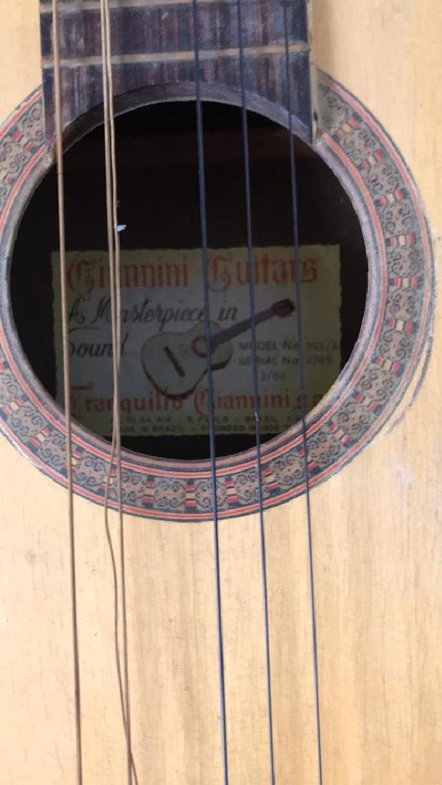 GIANNINI ACOUSTIC GUITAR - 2