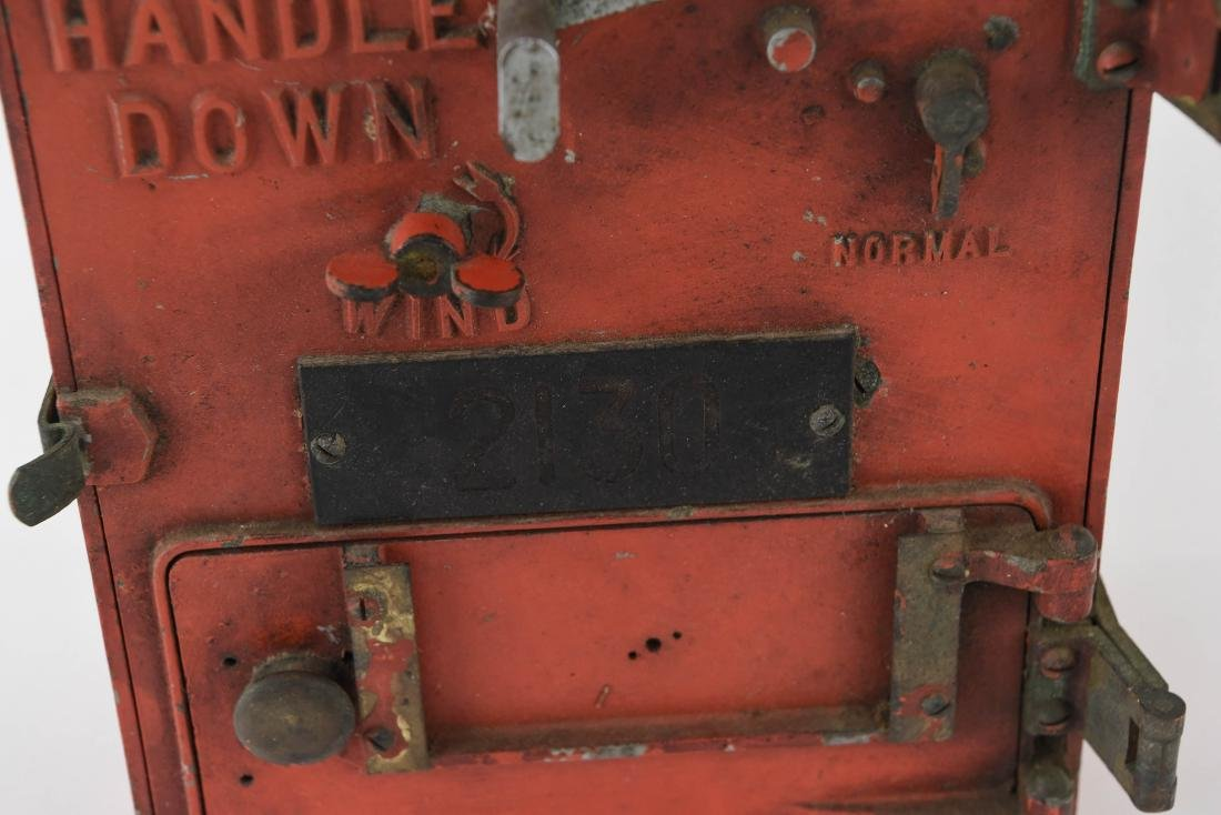 ANTIQUE FIRE ALARM BOX - 4