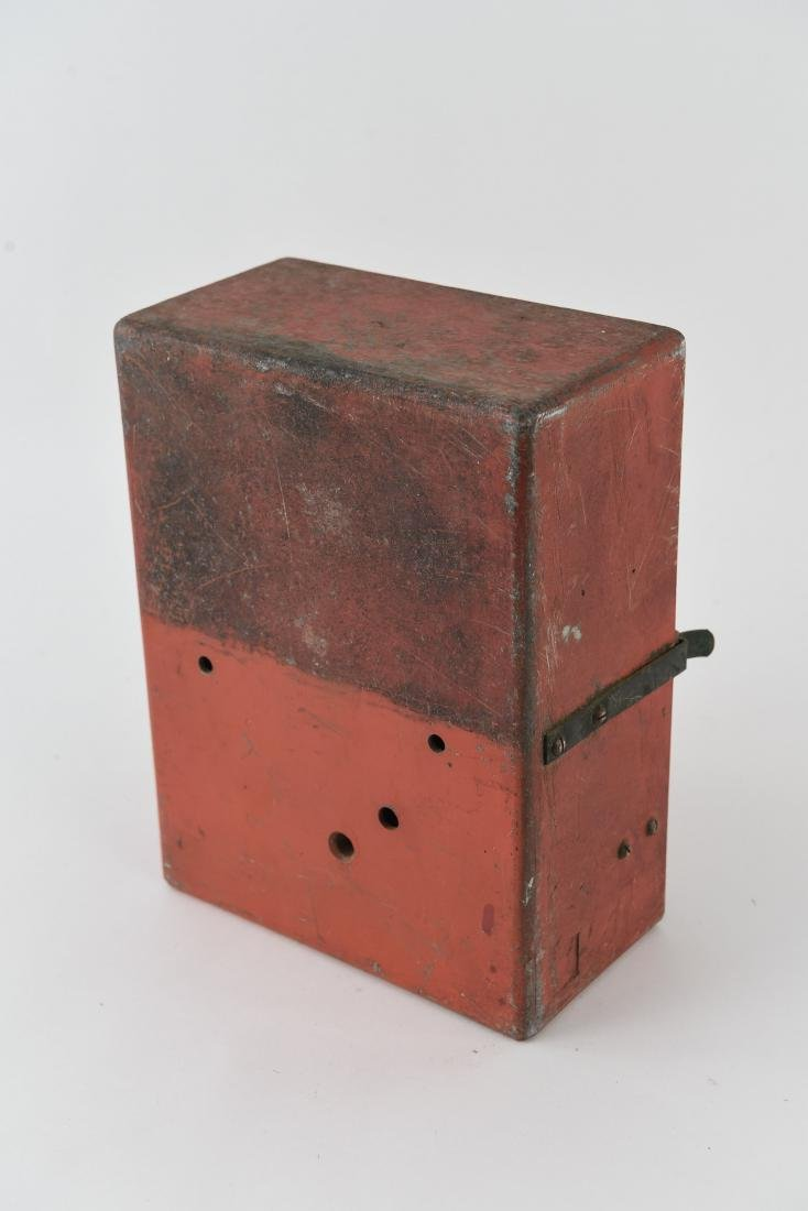 ANTIQUE FIRE ALARM BOX - 8