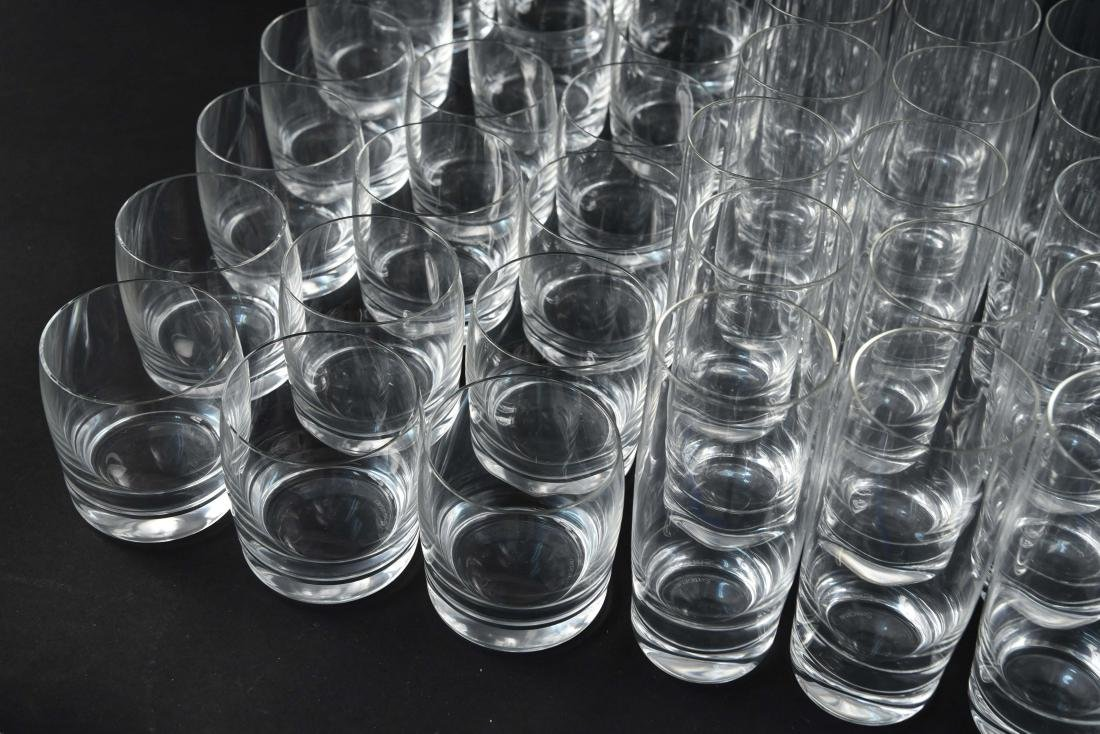LARGE CRYSTAL GLASS GROUPING - 2