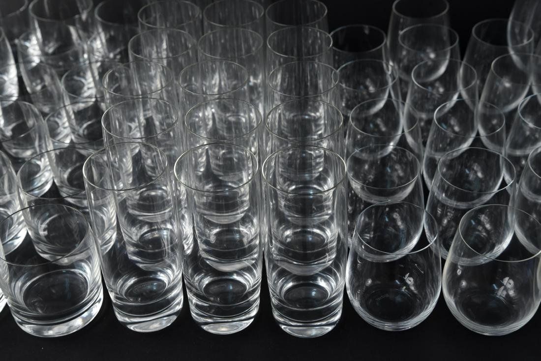 LARGE CRYSTAL GLASS GROUPING - 3