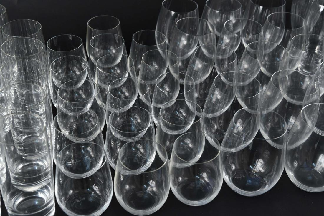 LARGE CRYSTAL GLASS GROUPING - 4