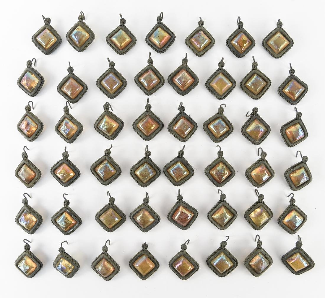 TIFFANY STUDIOS GLASS PRISM JEWELS