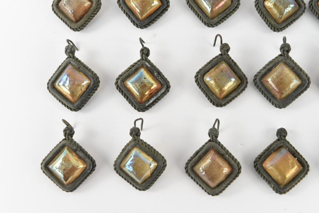 TIFFANY STUDIOS GLASS PRISM JEWELS - 2