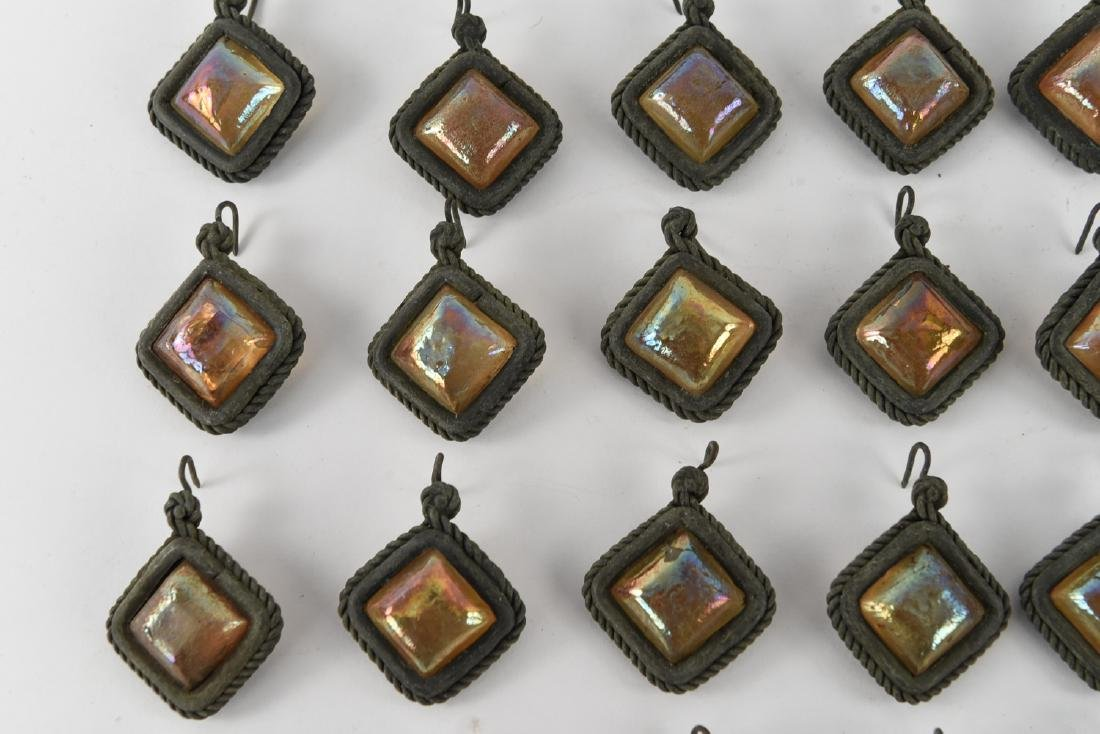TIFFANY STUDIOS GLASS PRISM JEWELS - 3