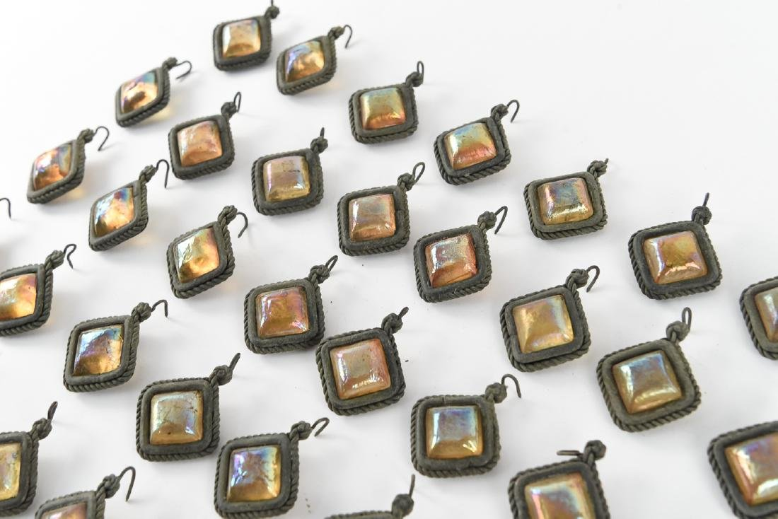 TIFFANY STUDIOS GLASS PRISM JEWELS - 4