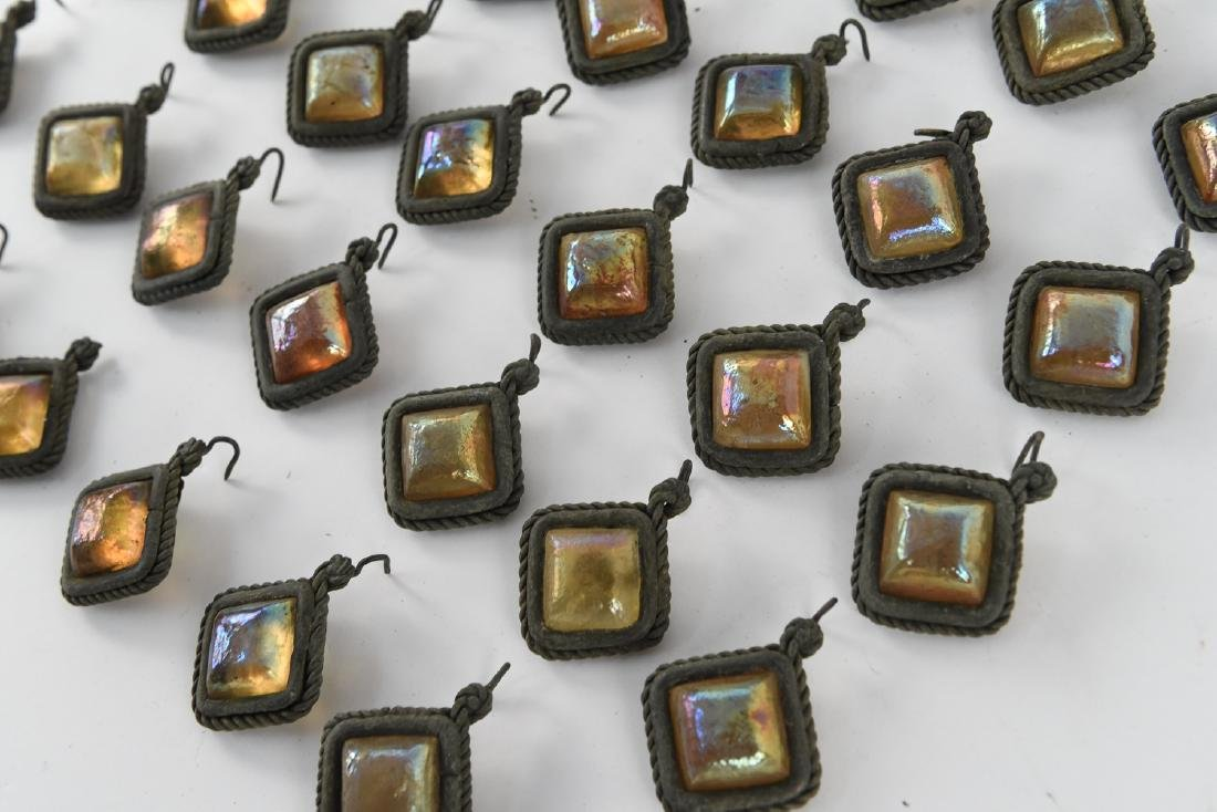 TIFFANY STUDIOS GLASS PRISM JEWELS - 5