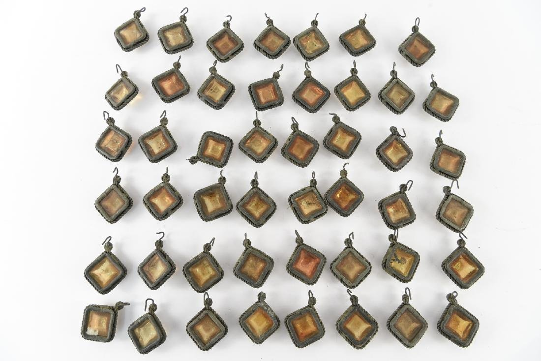 TIFFANY STUDIOS GLASS PRISM JEWELS - 6