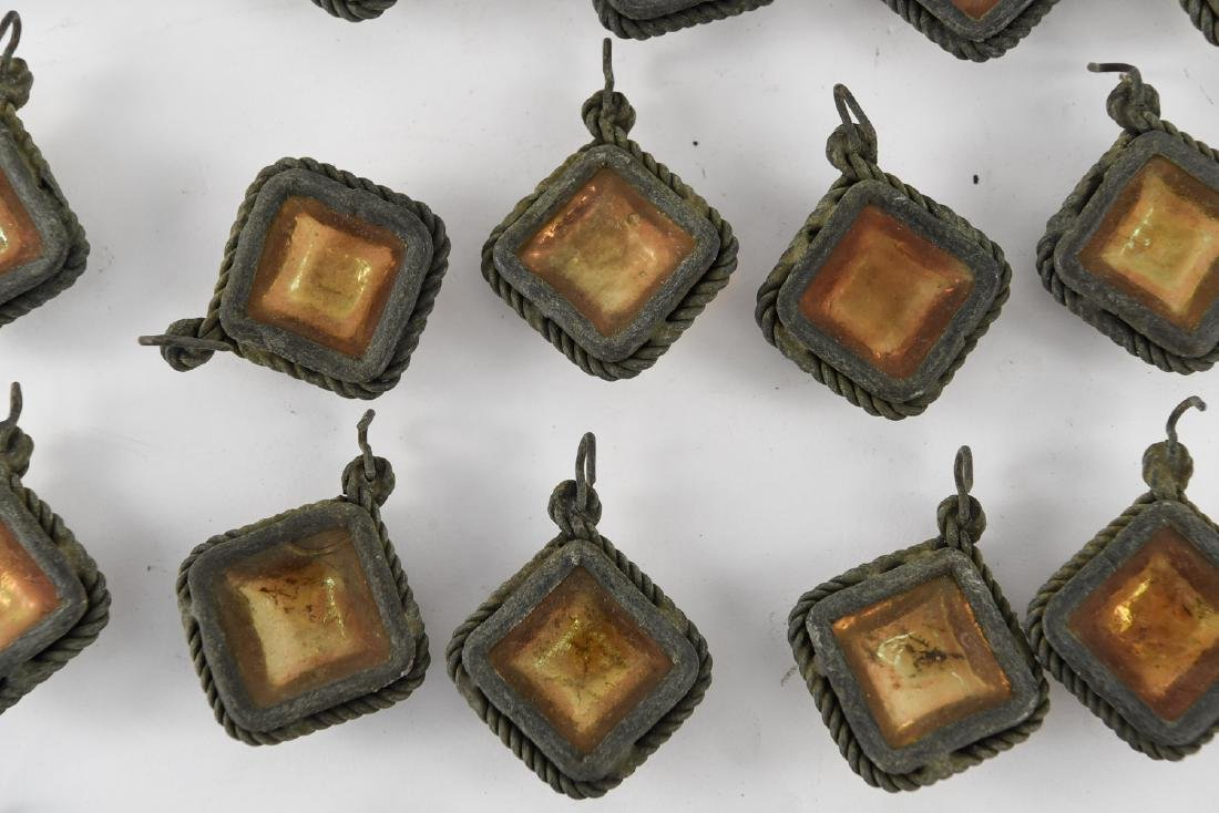 TIFFANY STUDIOS GLASS PRISM JEWELS - 7
