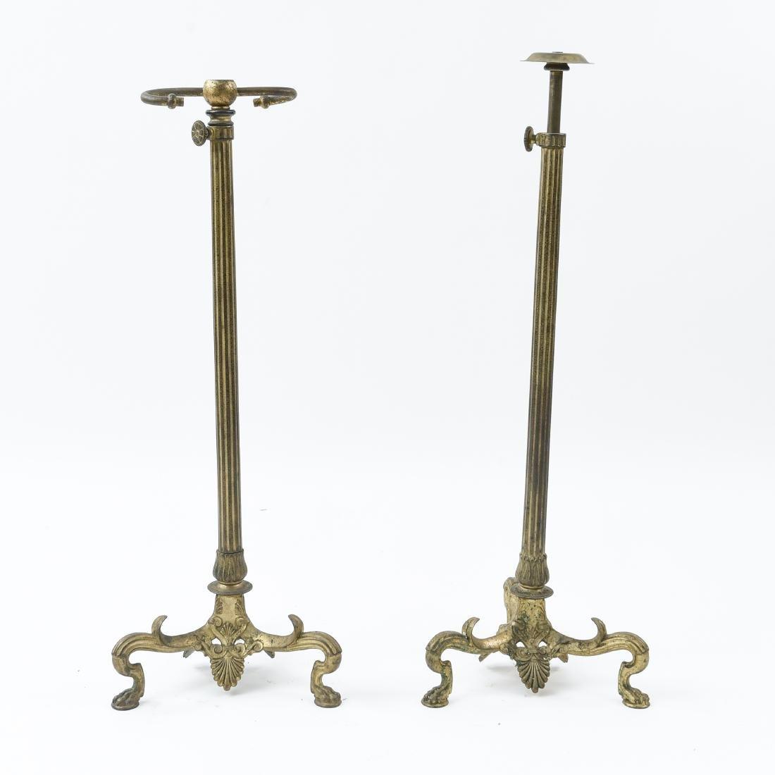 PAIR OF TIFFANY STUDIOS FLOOR OR BANQUET LAMPS