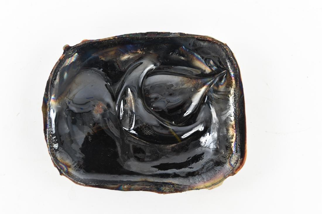 TIFFANY STUDIOS GLASS TURTLEBACK TILE - 6