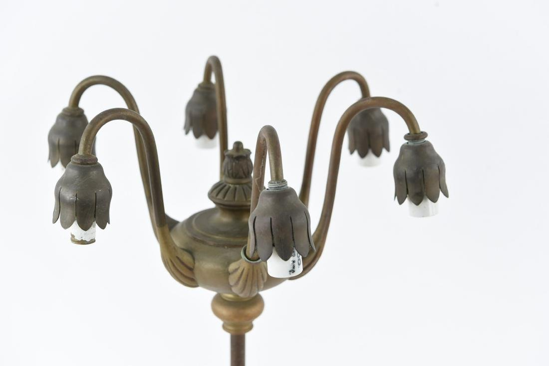 TIFFANY STUDIOS 6-LIGHT LILY TABLE LAMP - 2