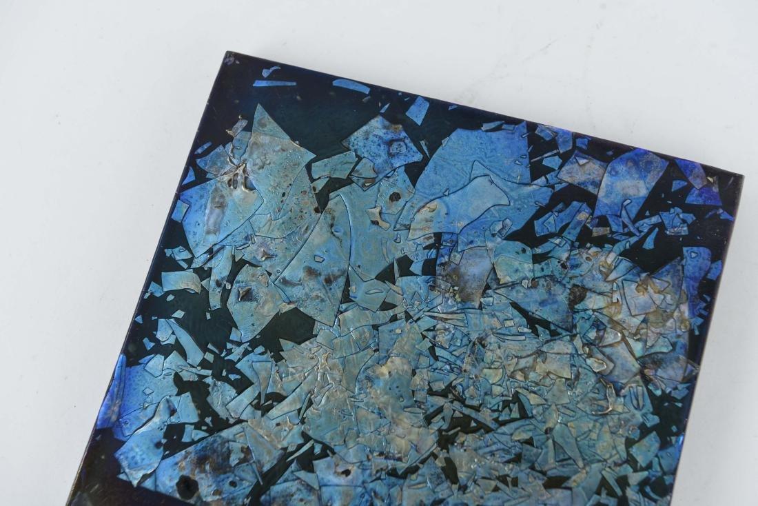 TIFFANY ART GLASS TILE - 2