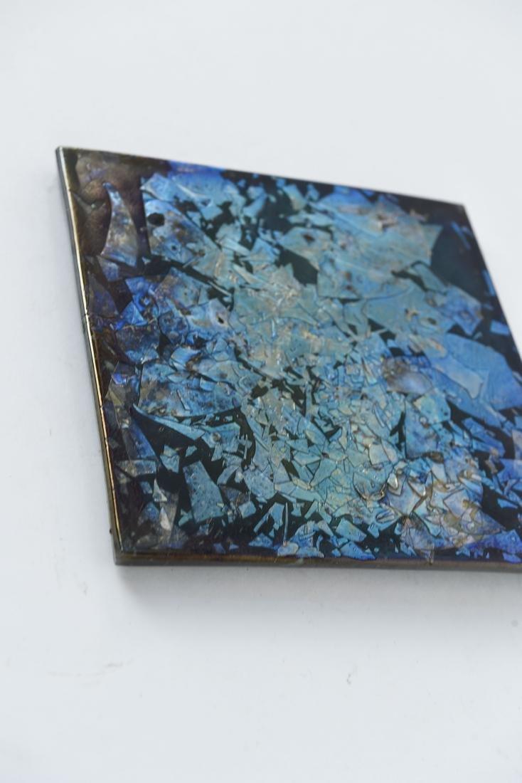 TIFFANY ART GLASS TILE - 4