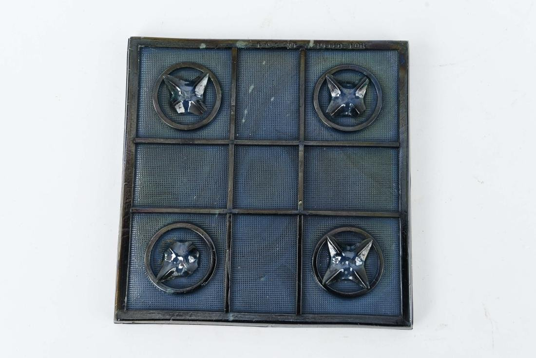 TIFFANY ART GLASS TILE - 6