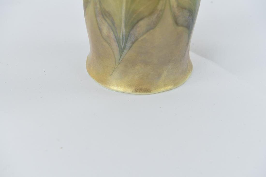 TIFFANY PULLED FEATHER ART GLASS SHADE - 4