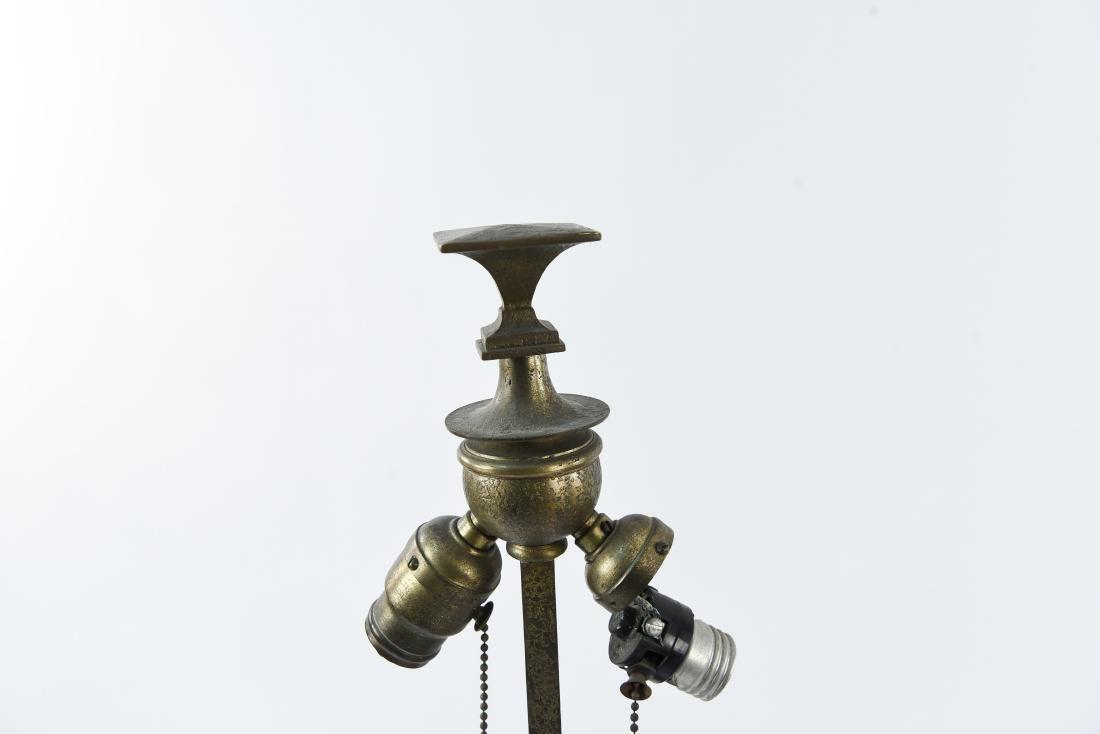 TIFFANY STUDIOS BRONZE FLOOR LAMP - 2