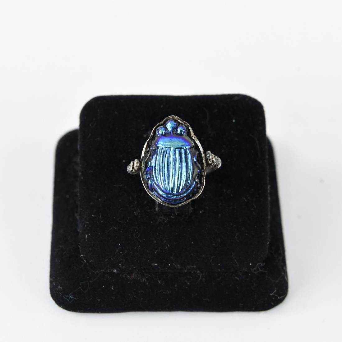 TIFFANY SCARAB RING