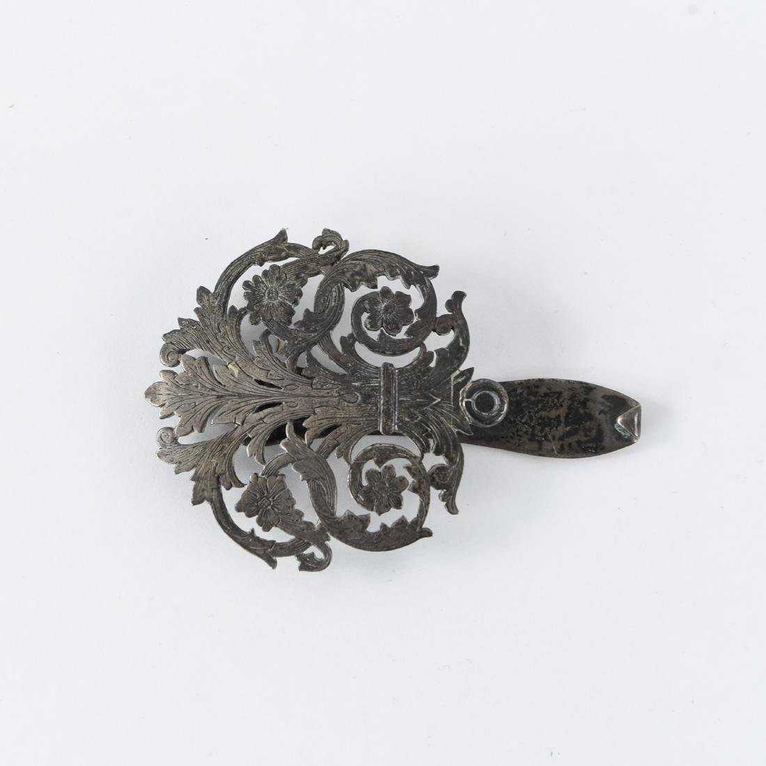 TIFFANY SILVER CHATELAINE CLIP