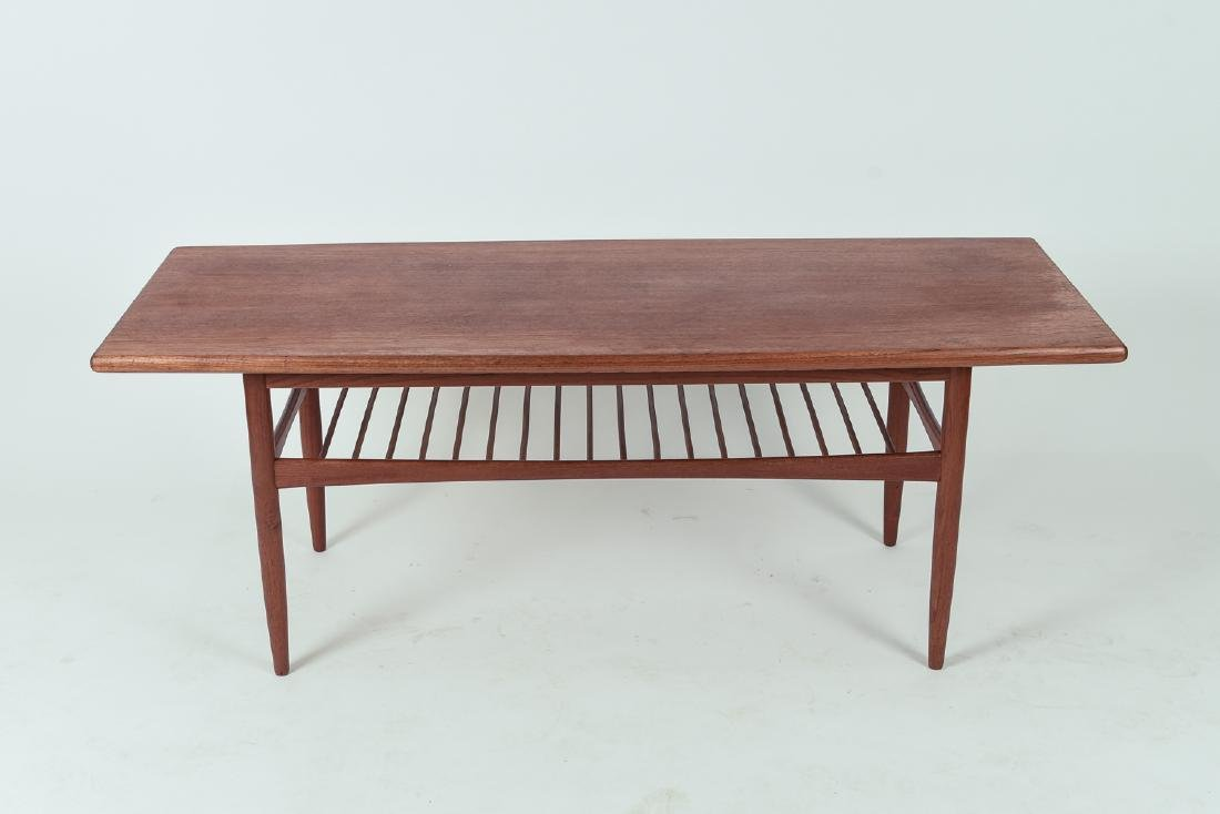 GRETE JALK STYLE DANISH SURFBOARD COFFEE TABLE