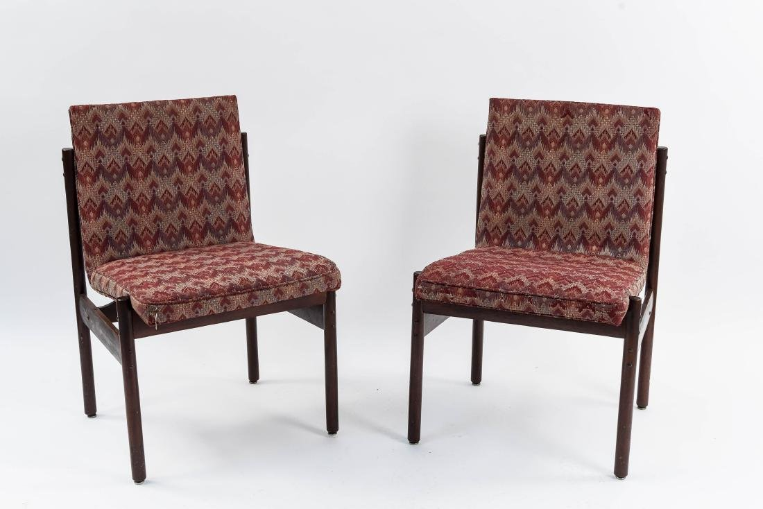 PAIR OF PERCIVAL LAFER SIDE CHAIRS