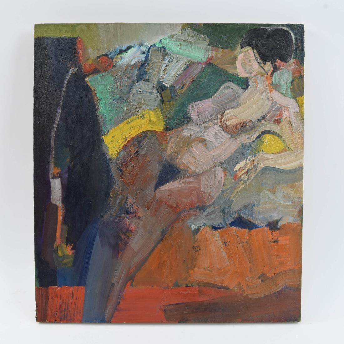GENE SZAFRAN ( AMERICAN 1941-2011) ABSTRACT O/C