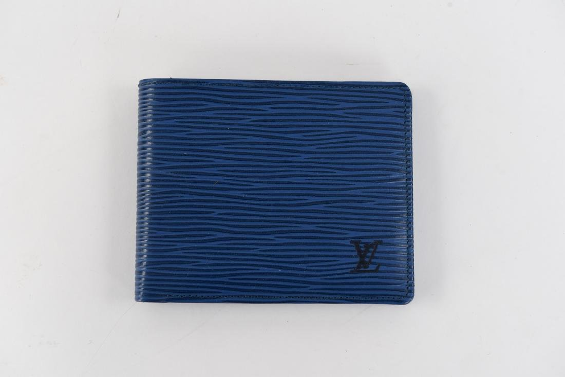 LOUIS VUITTON BLUE WALLET