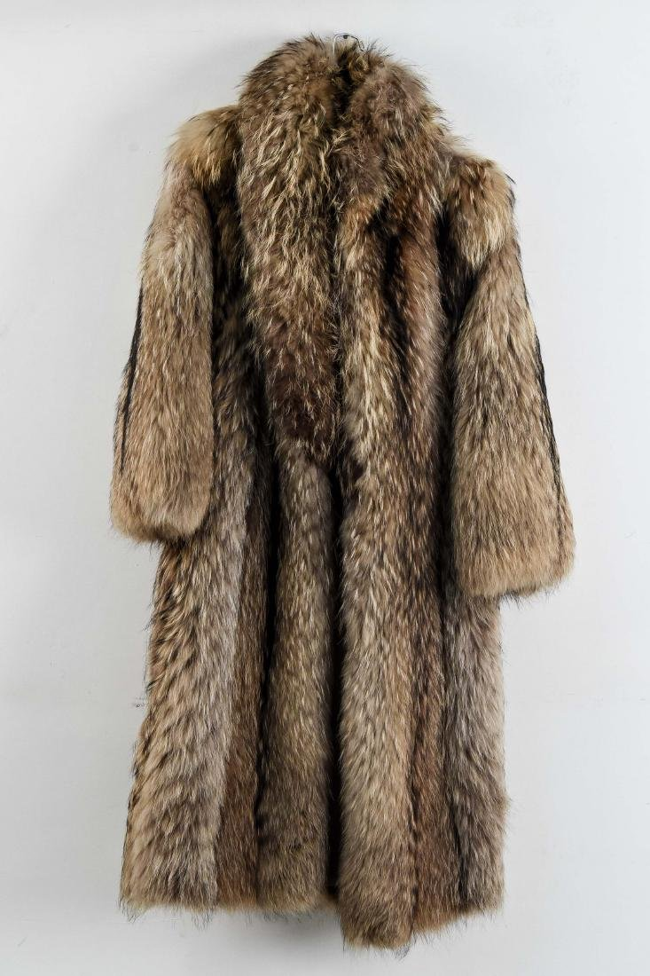 FULL LENGTH FUR COAT
