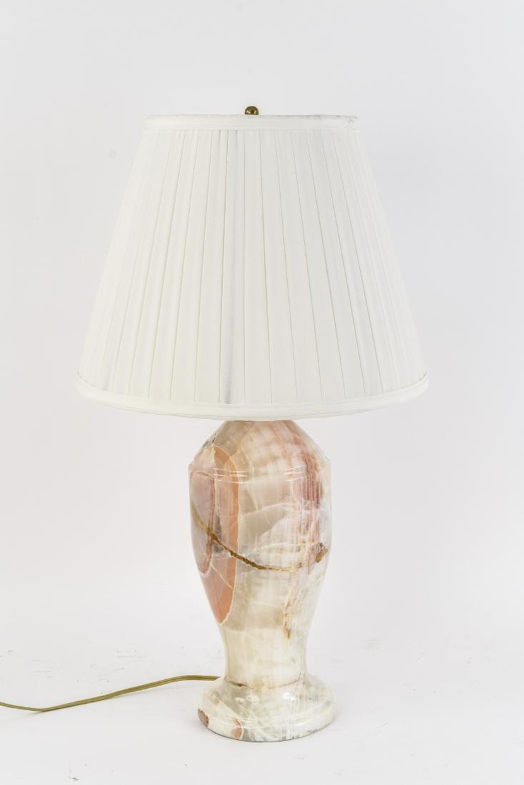 ONYX MARBLE TABLE LAMP