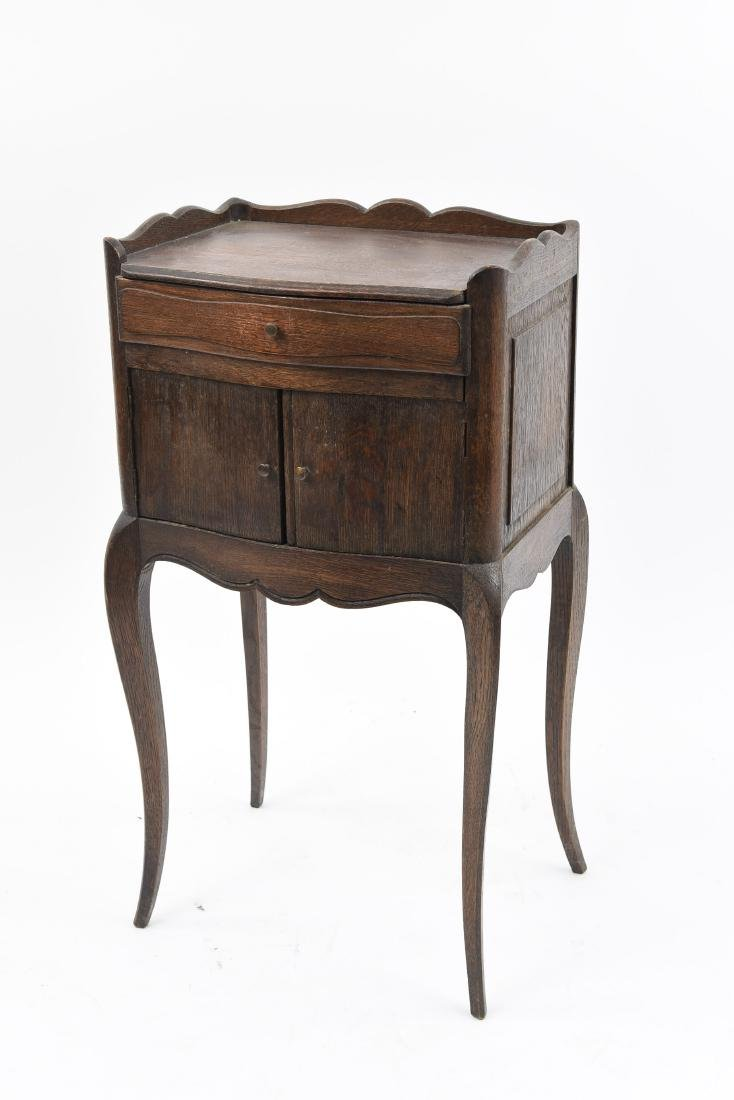 SMALL FRENCH SIDE TABLE CABINET