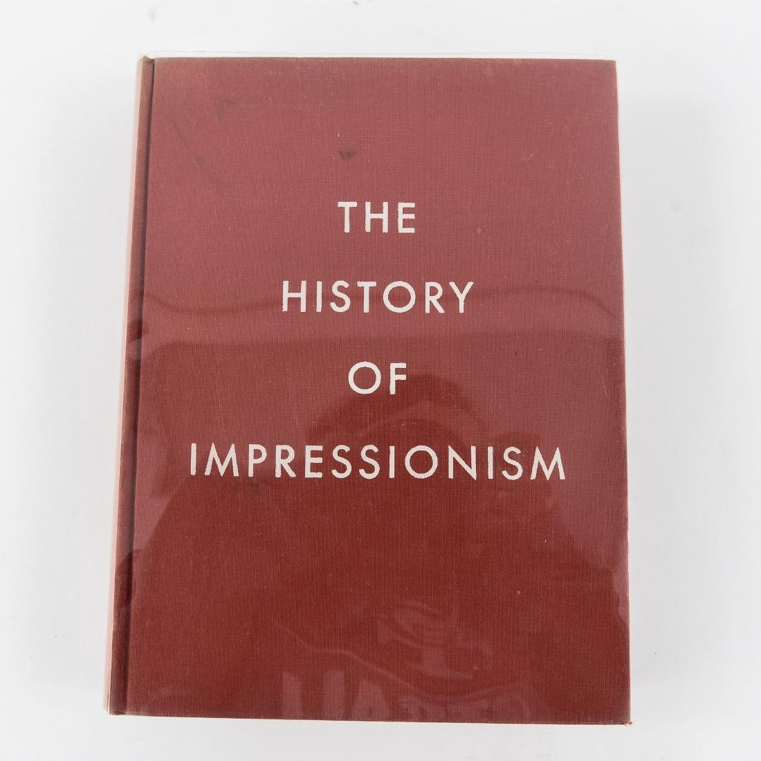 """""""THE HISTORY OF IMPRESSIONISM"""" BOOK"""