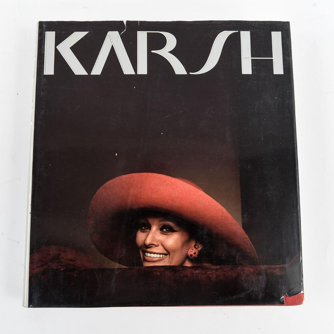 """SIGNED """"KARSH: A FIFTY YEAR RETROSPECTIVE"""" BOOK"""