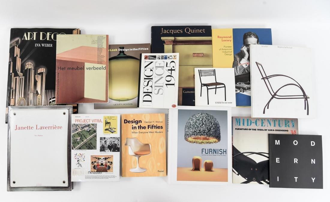 20TH C. FURNITURE AND DESIGN BOOKS