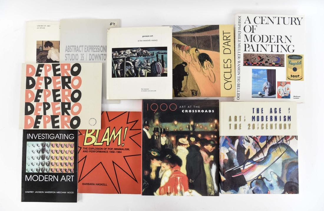 CONTEMPORARY AND 20TH C. MODERN ART BOOKS