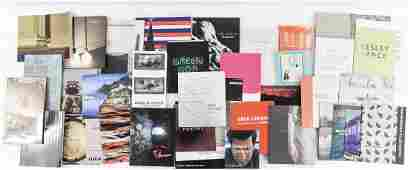CONTEMPORARY ART AND MONOGRAPH ETC. BOOKS