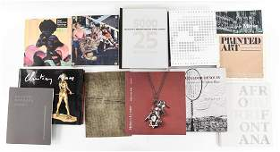 MODERN  CONTEMPORARY ART BOOKS