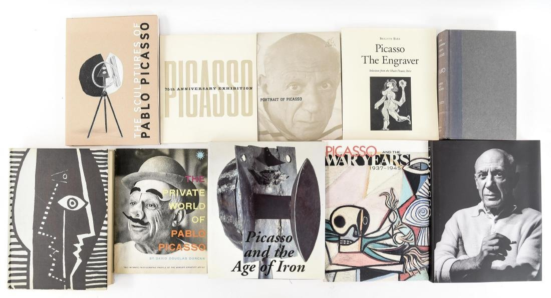 PICASSO ART BOOK GROUPING