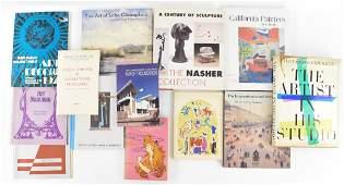 MODERN & CONTEMPORARY ART SCULPTURE ETC. BOOKS